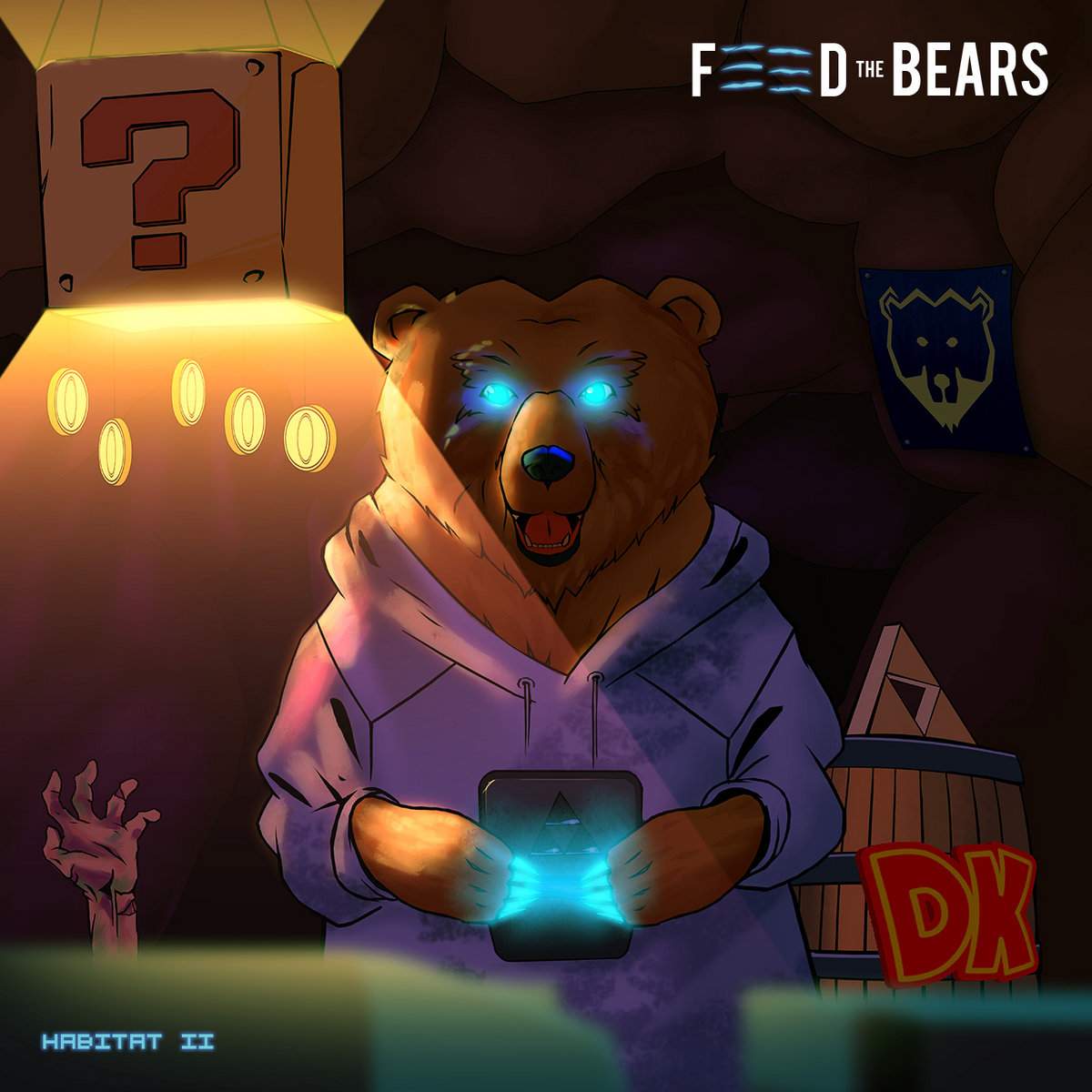 Feed The Bears - Habitat II [EP] (2017)