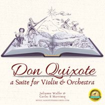The Don Quixote Suite (MP3 & Violin Score) cover art