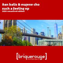 [BR123] : Dan Balis & Eugene Cho - Such A Feeling [2020 Remastered Version] (including a Phil Weeks Robsoul Mix) cover art