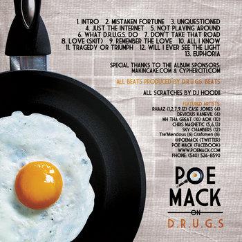 Poe Mack On D.R.U.G.S. by Poe Mack