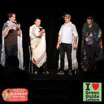 Ep 068 : LIVE! Wil Anderson, Sam Simmons & Ryan Moloney love the 18/04/13 Letters cover art
