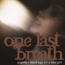 One Last Breath (acapella) cover art