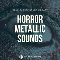 Horror Sound Effects Library! Unworldly Squeaky & Rusty Metals! 192kHz 32Bit cover art