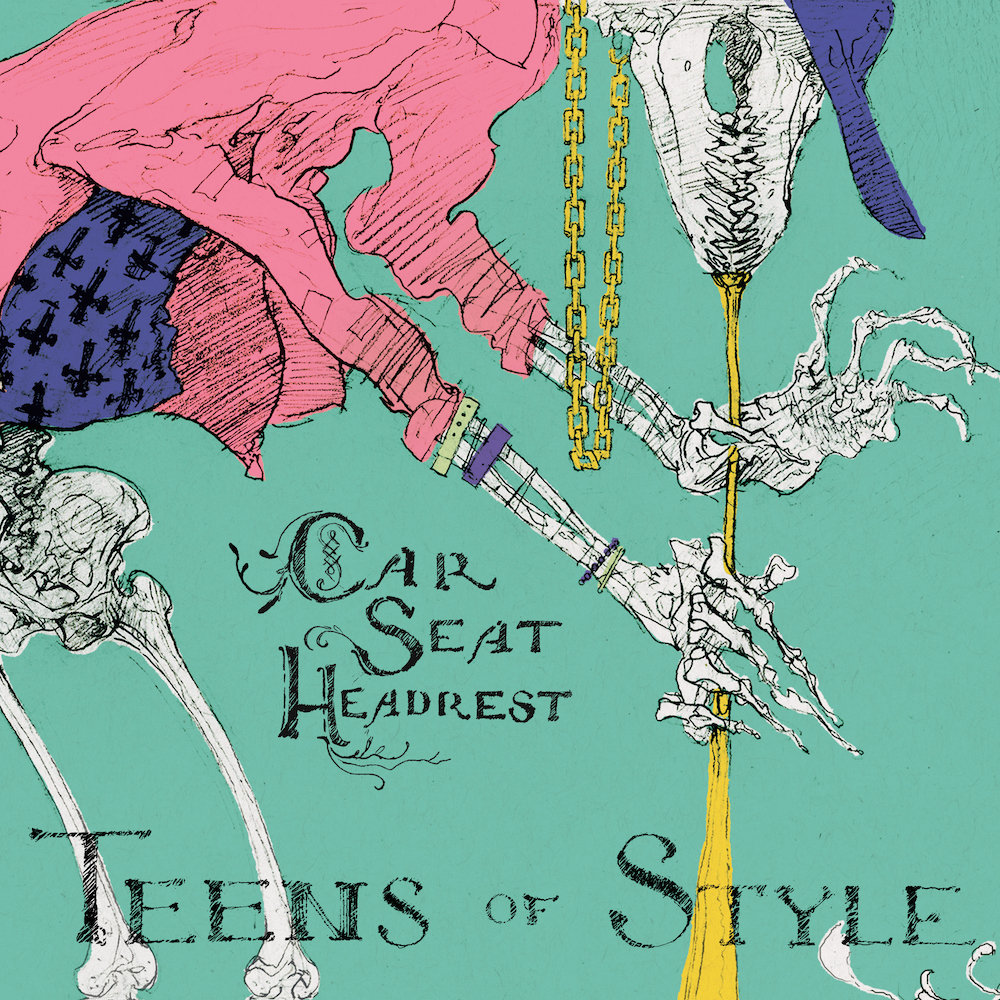 Teens Of Style Car Seat Headrest