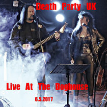 Death Party UK-Live At The Doghouse cover art