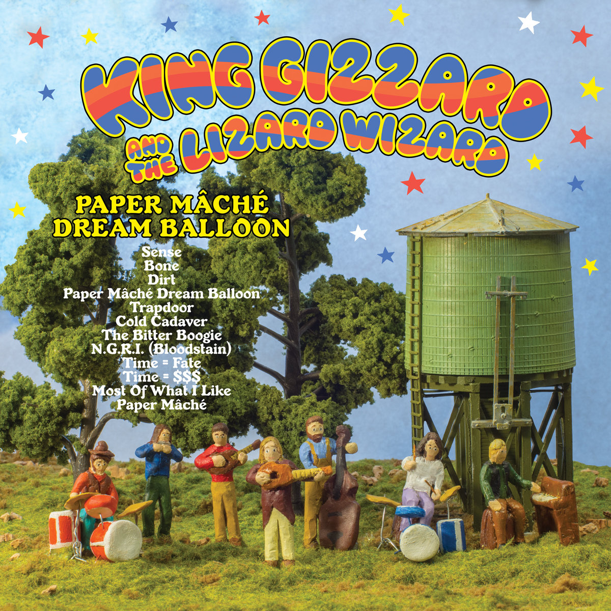 Image result for king gizzard paper mache