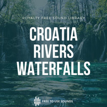 Waterfalls & Rivers Sounds Croatia, Plitvice Lakes National Park cover art