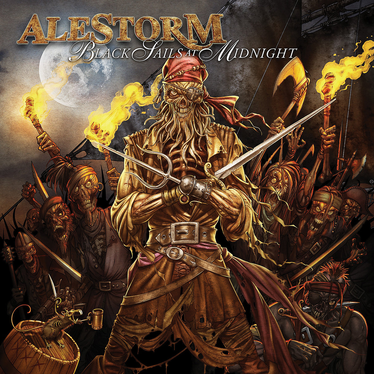 alestorm black sails at midnight album