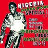 Nigeria Disco Funk Special: The Sound of the Underground Lagos Dancefloor 1974-79 Cover Art