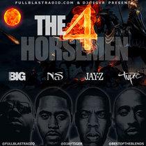 The 4 Horsemen - The Art of War ft 2pac, Nas, JayZ & Biggie cover art
