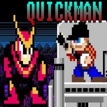 Mega Man 2 - Quick Man cover art