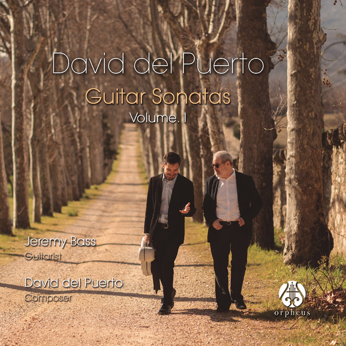 David Del Puerto Guitar Sonatas Volume I Jeremy Andrew Bass
