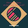 Leonidas & Hobbes, 'Machines, Tapes & Electronic Setups' EP (HM002) Cover Art