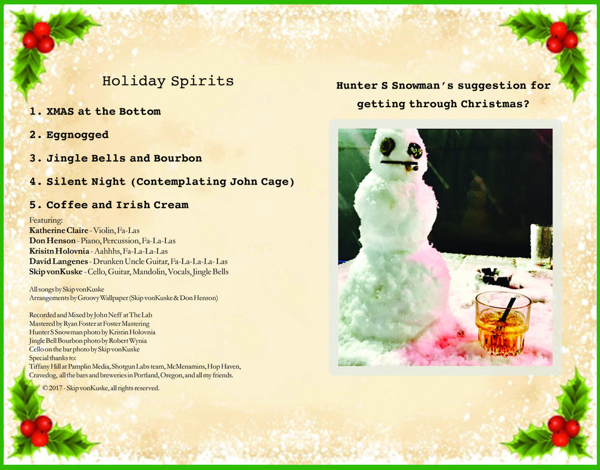 Jingle Bells&Bourbon | Skip vonKuske