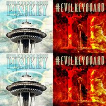 """Evil Keyboard II/Posi Key EP"" cover art"