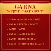 Garna- Chinese Spare Ribz E.P (Slimzos Digital 004) cover art