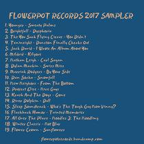 Flowerpot Records 2017 Sampler cover art