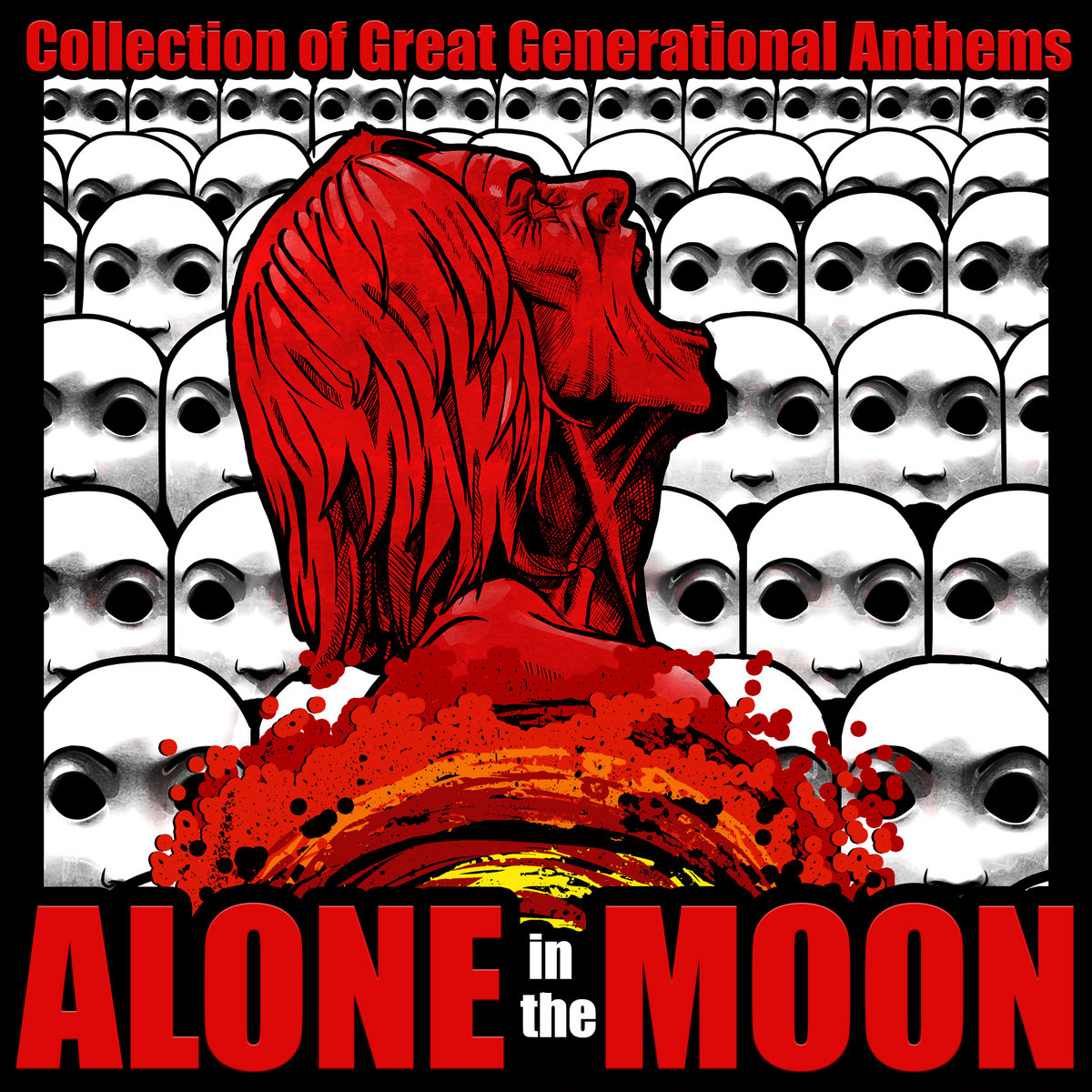 """Neo-90's foreva'!"" - Alone In The Moon - Collection of Great Generational Anthems (2015)"