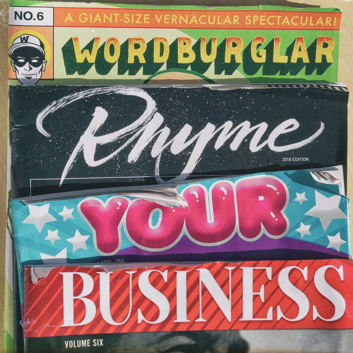 rhyme your business wordburglar
