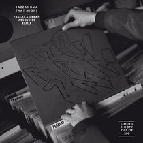 That Night (Paskal & Urban Absolutes Remix) RSD2013 cover art