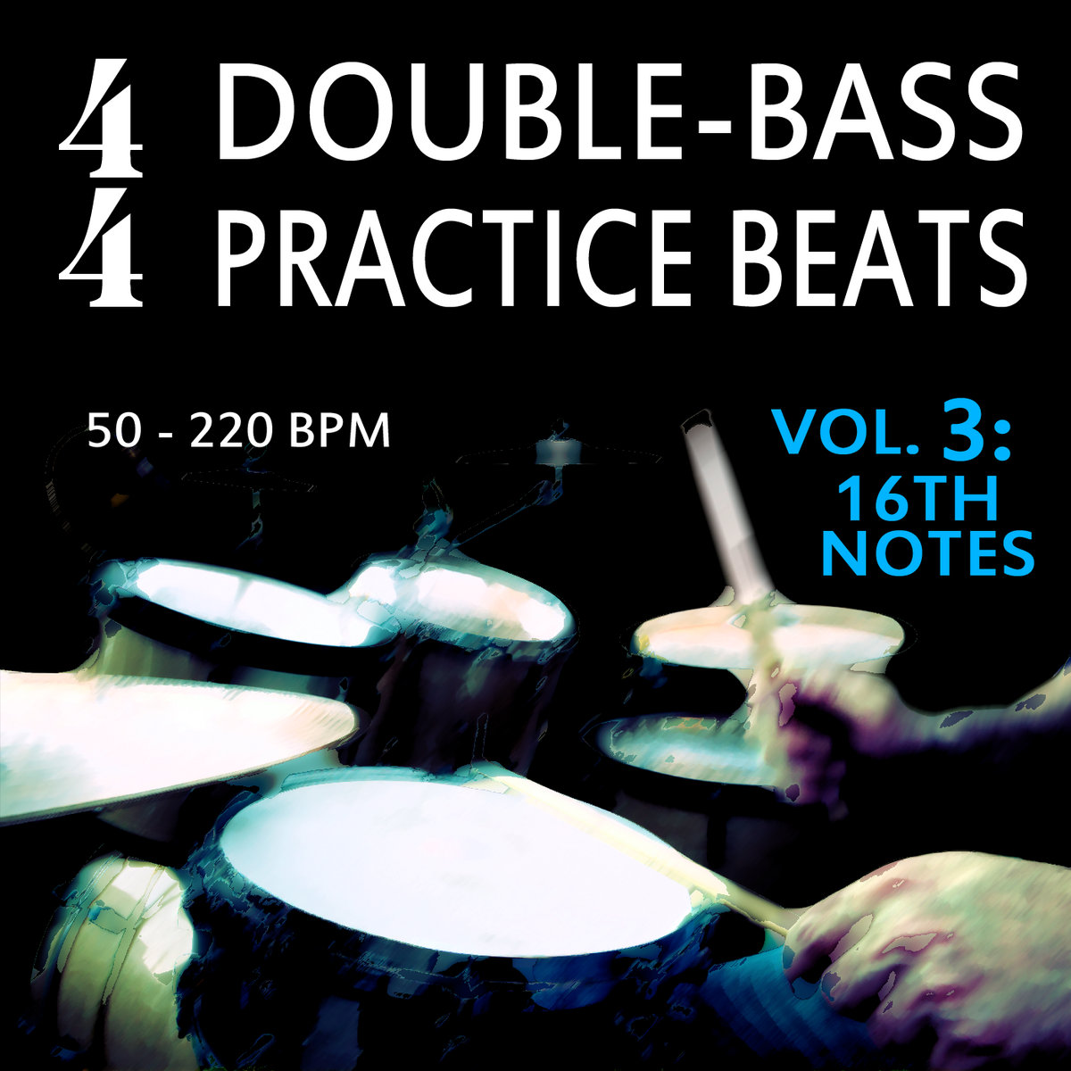 F Action Alternative Rock It Up Vol 5 Free: 4/4 Double-Bass Practice Beats, Vol. 3
