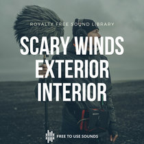 Scary Wind Textures Exterior & Interior Wind Sound Effects cover art