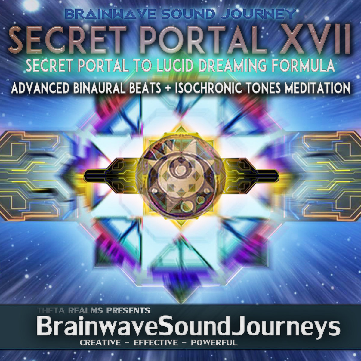 528 HZ| High COMMAND Space FLIGHT🔹SECRET PORTAL XVII