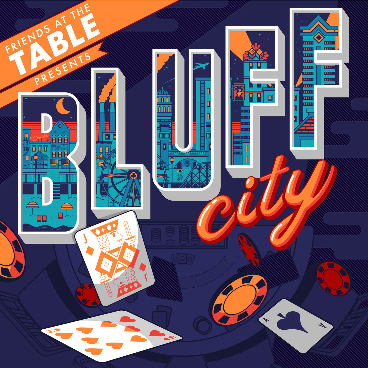 Bluff City Friends At The Table