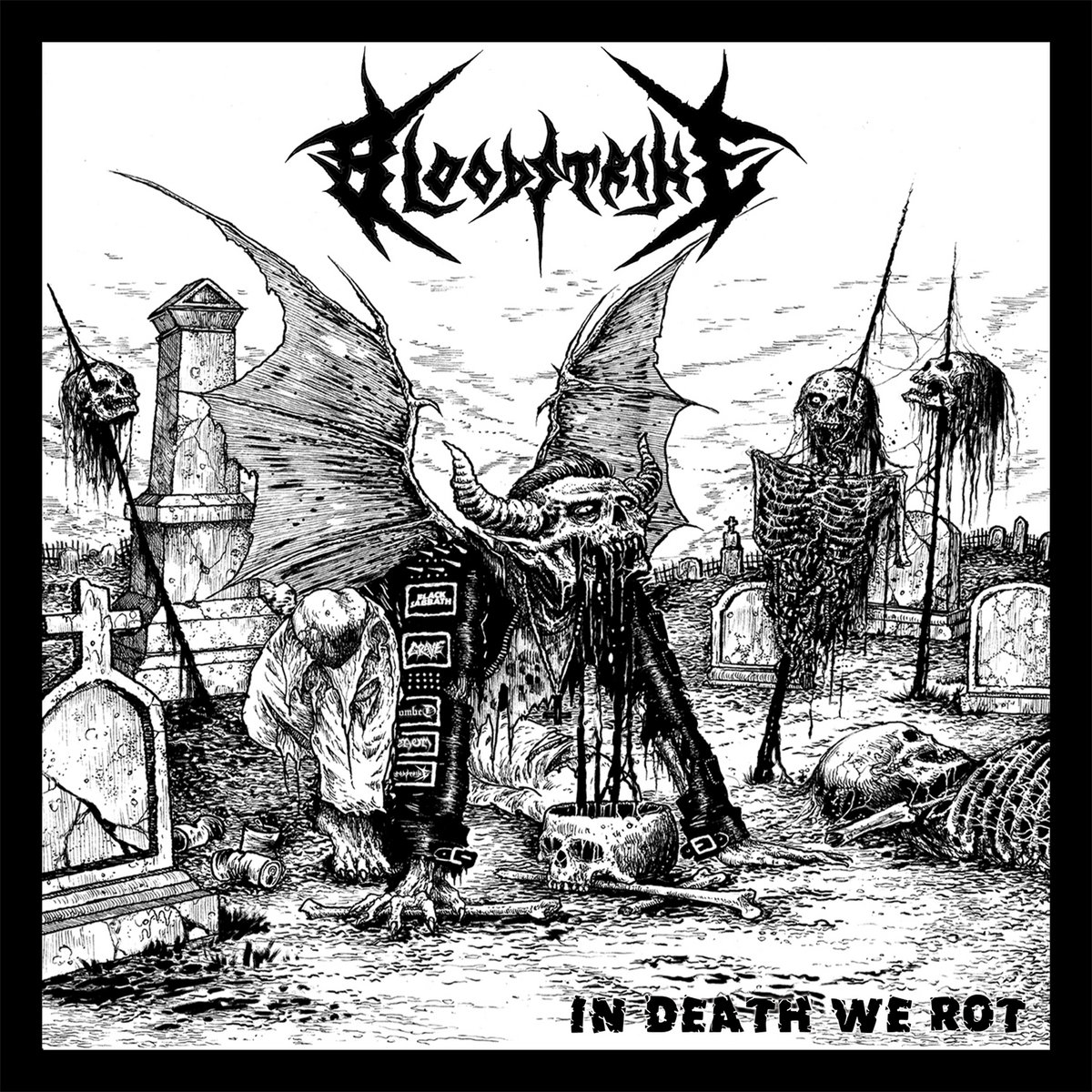 BLOODSTRIKE - IN DEATH WE ROT (2015, OLD SCHOOL DM)
