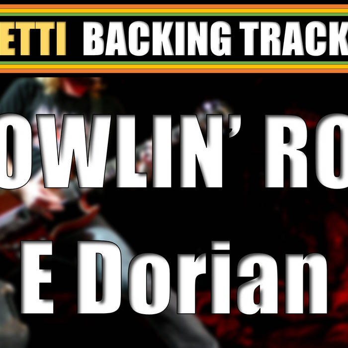 E Dorian - Growling Rock Guitar Backing Track | Petti