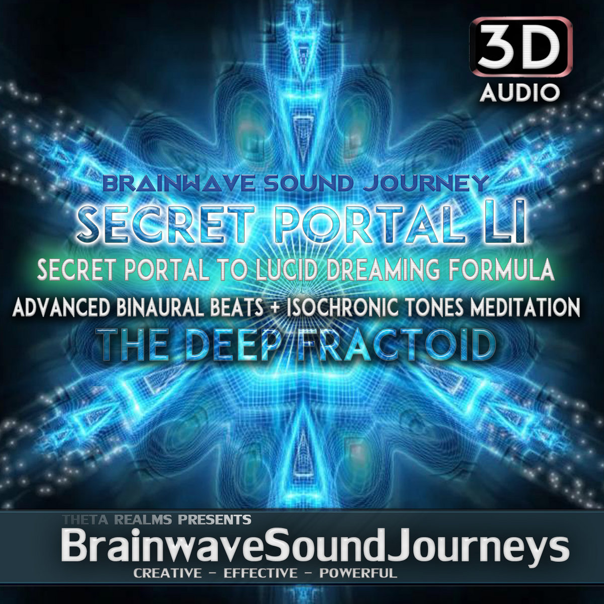 INSTANT LUCID DREAMING MUSIC + Brown Noise Low Frequency | 3D