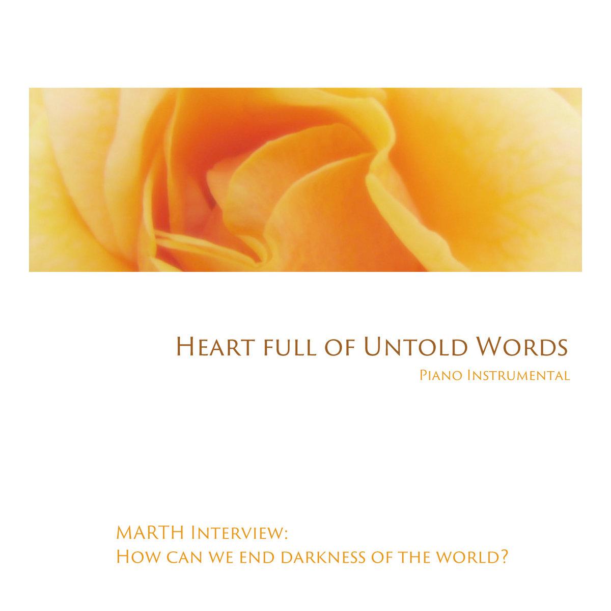 Heart full of Untold Words (Piano Instrumental) | MARTH