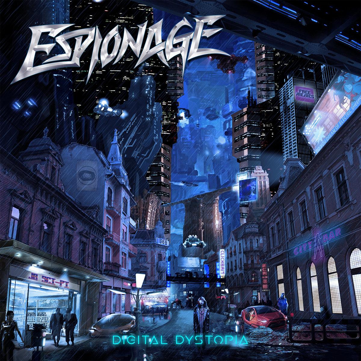 Resultado de imagem para Espionage - Digital Dystopia