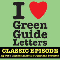 Ep 016 : Jacques Barrett & Jonathan Schuster love the 01/03/12 Letters cover art