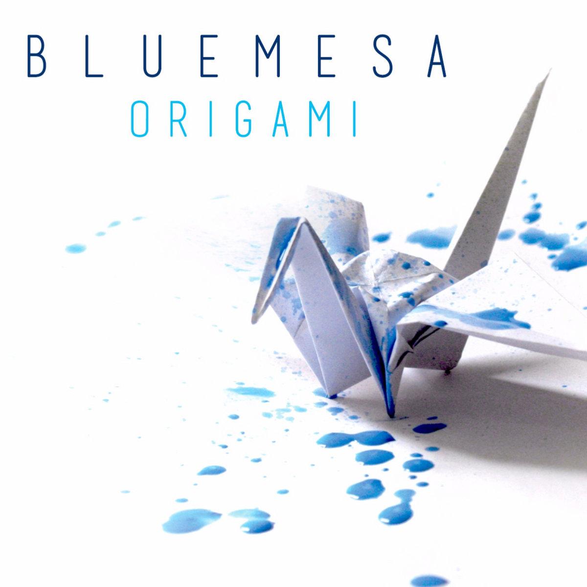 Blue Mesa- Origami