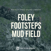 Footsteps Sound Effects   Barefoot Muddy Field cover art