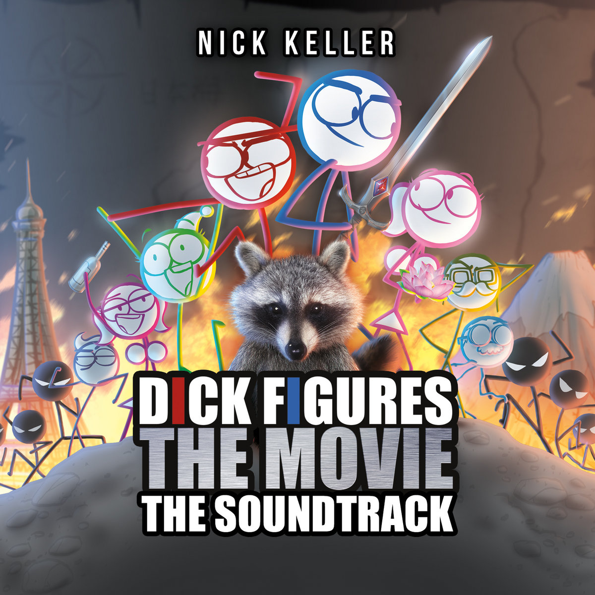 Dick Figures The Movie (Original Motion Picture Soundtrack) | Nick