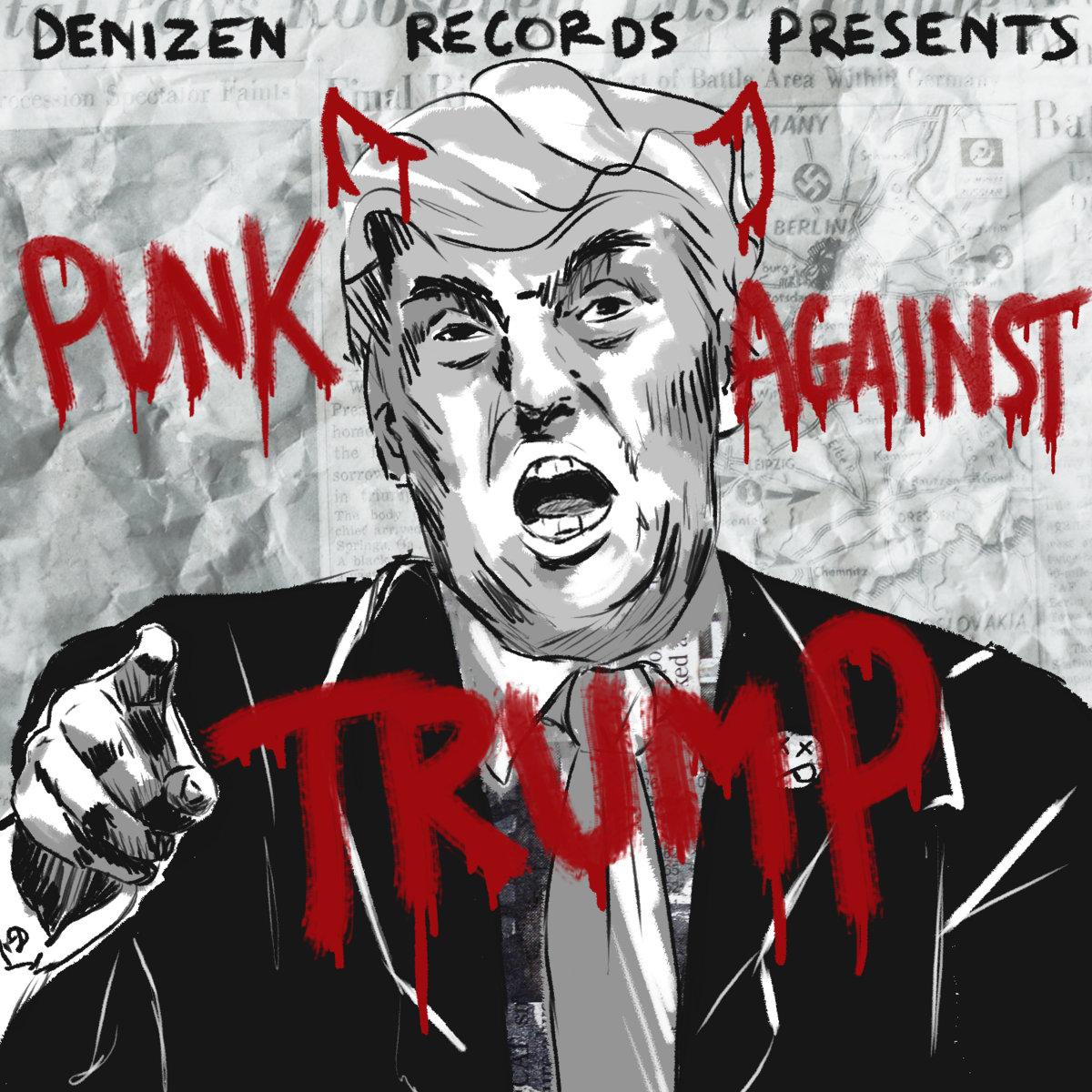 punk against trump denizen records