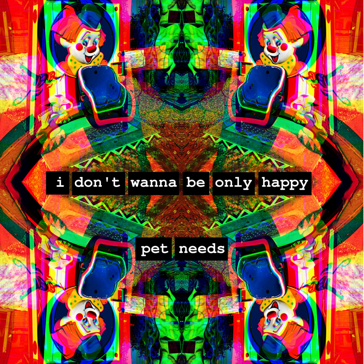 I Don't Wanna Be Only Happy by PET NEEDS