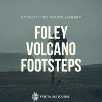 """Footsteps Sound Effects On Volcano Piton de la Fournaise """"Moon Atmos""""! cover art"""
