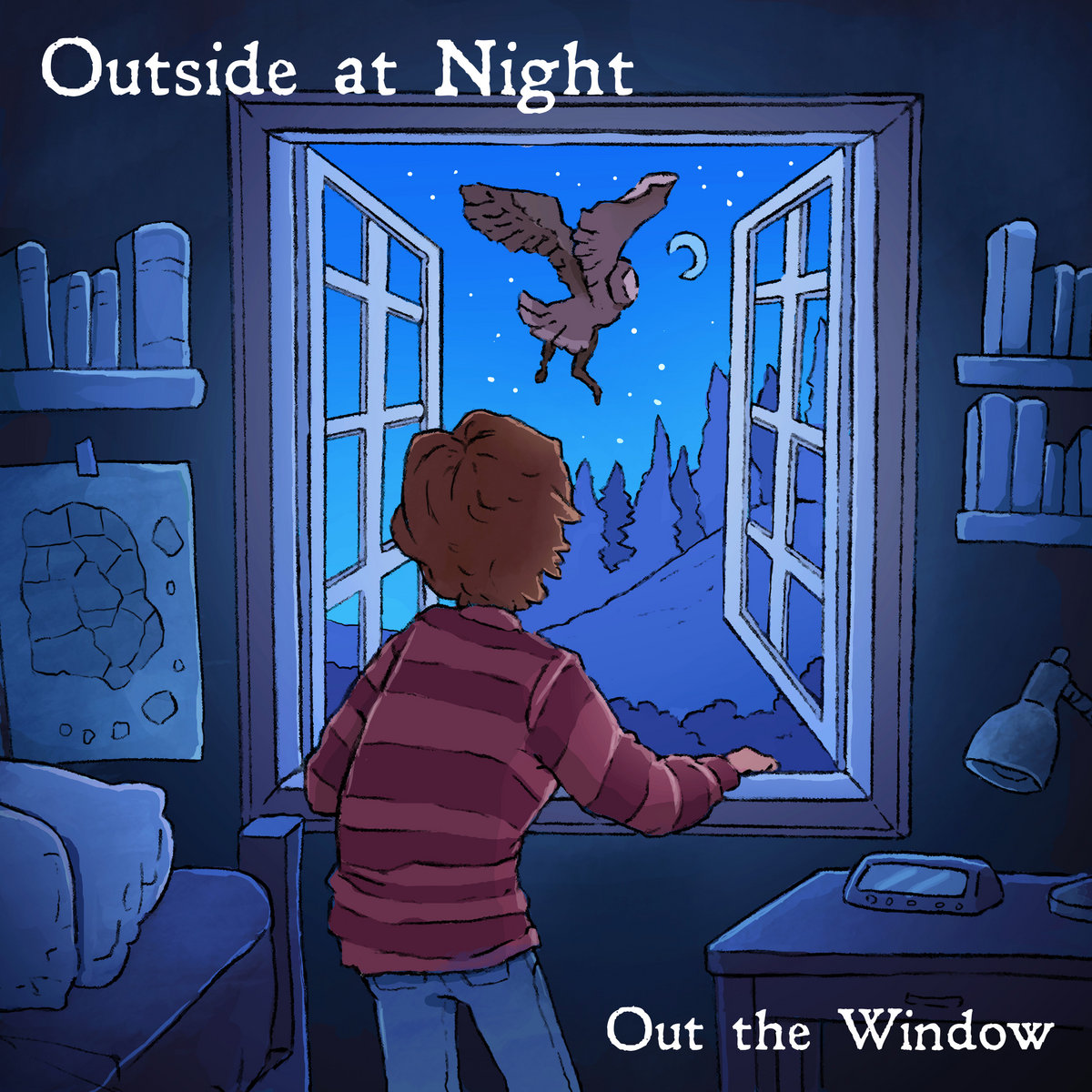 Outside at Night - Out the Window (2018)