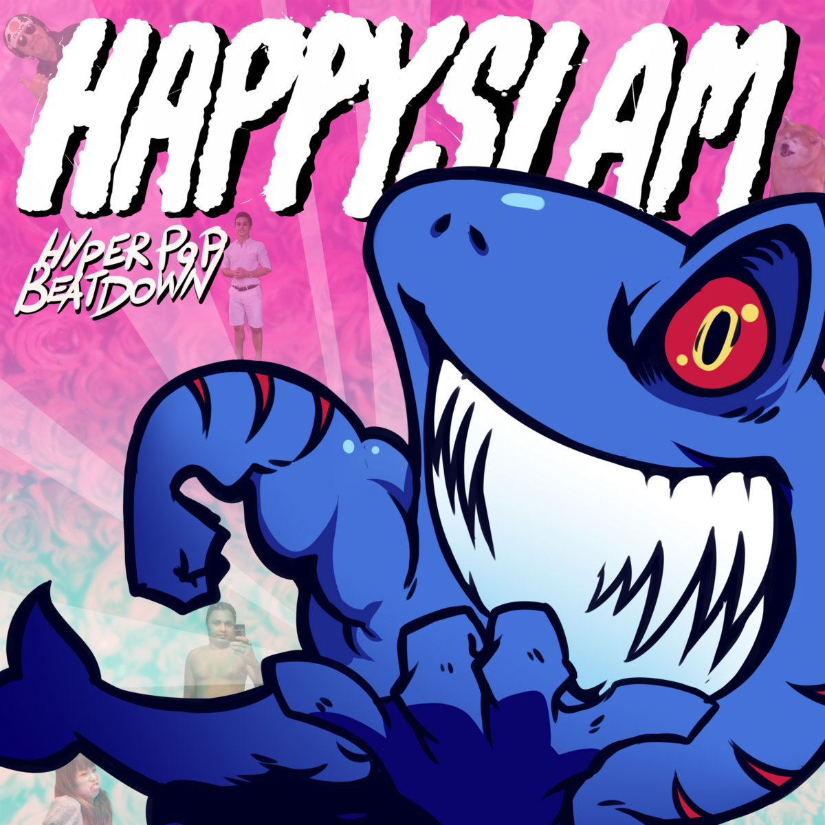 HAPPYSLAM - HYPERPOP BEATDOWN [EP] (2017)