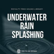Underwater Rain Splash Sound Effects Library cover art