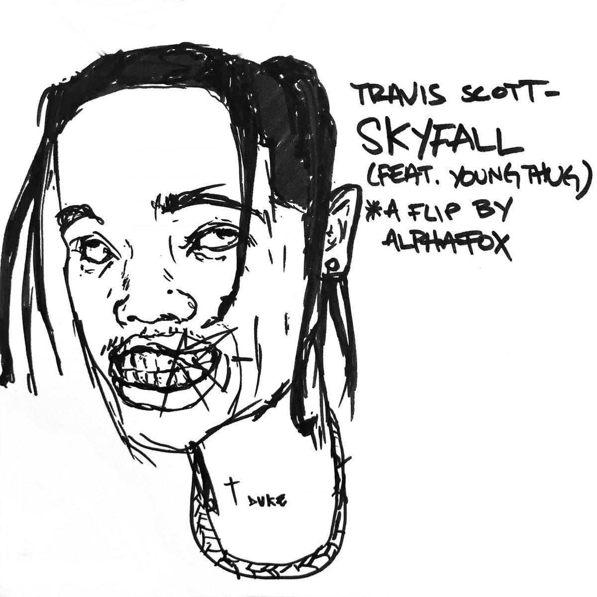 Travis Scott - Skyfall (Feat  Young Thug) *a flip by