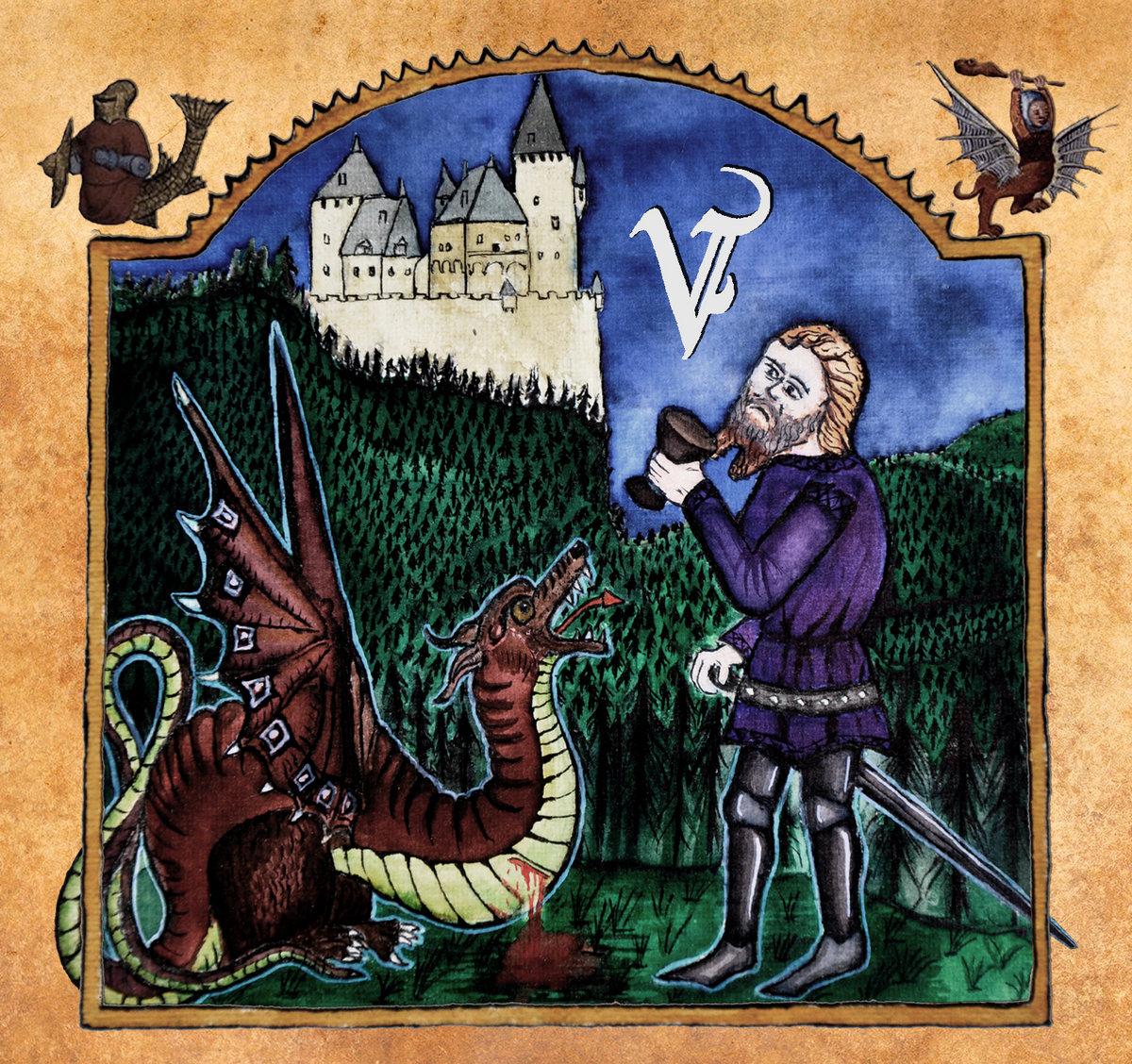 véhémence par le sang versé black metal médiéval le scribe du rock