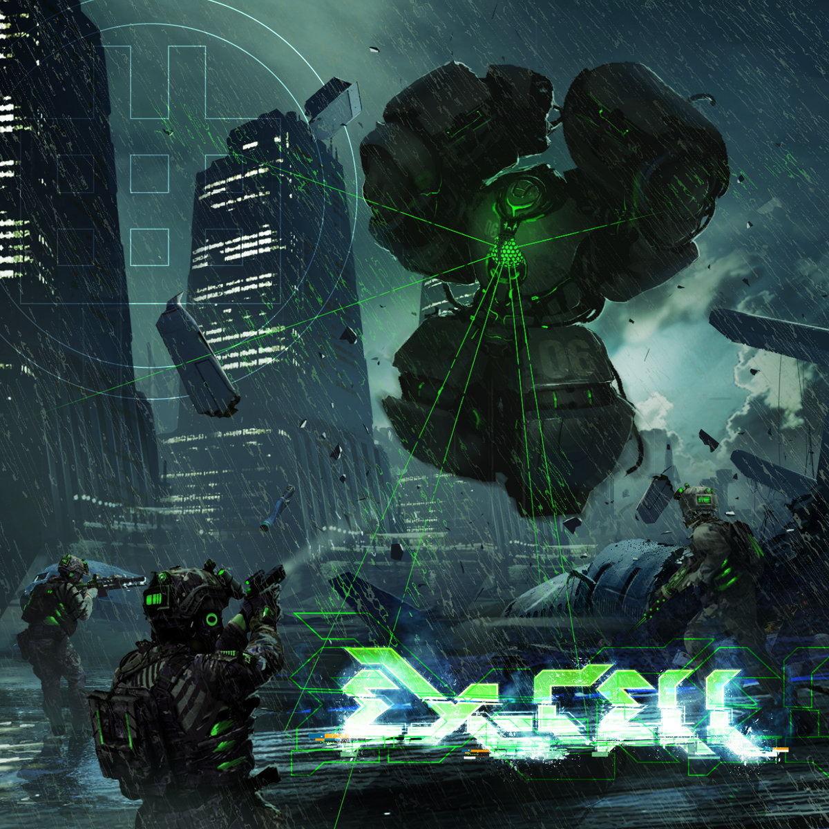 EX-CELL | Attack The Music