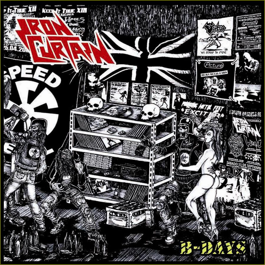 Iron curtain cartoon - By Kvlto Al Metal Prodvctions
