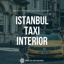 Car Interior Sound Effects! Taxi Istanbul cover art