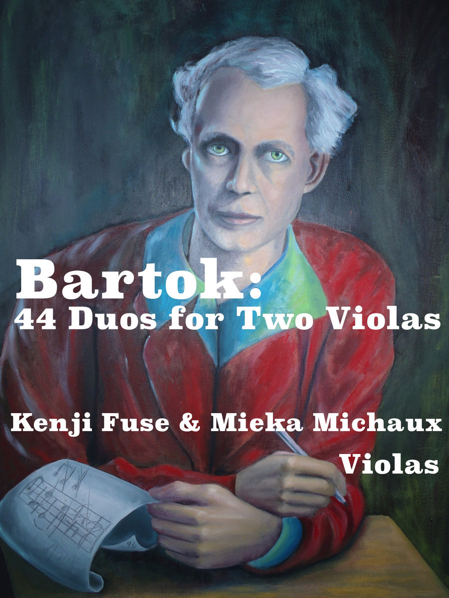Bartok: 44 Duos for Two Violas | Kenji Fuse