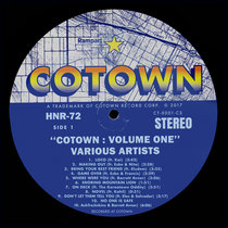 """COTOWN: Volume One"" [HNR72] cover art"